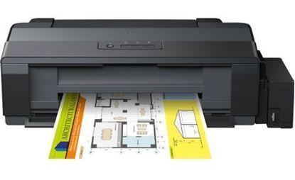 Изображение Принтер А3 Epson L1300 4-х цветный с оригинальной СНПЧ