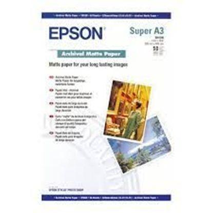 Изображение Бумага Epson A3+ Archival Matte Paper