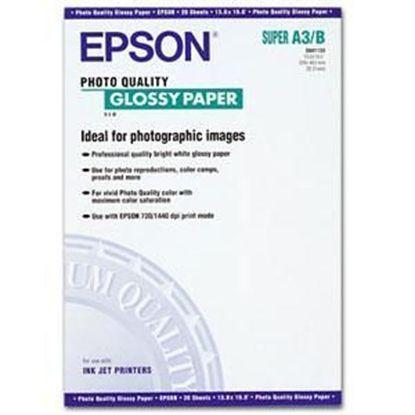 Изображение Бумага Epson A3+ Photo Quality Glossy Paper