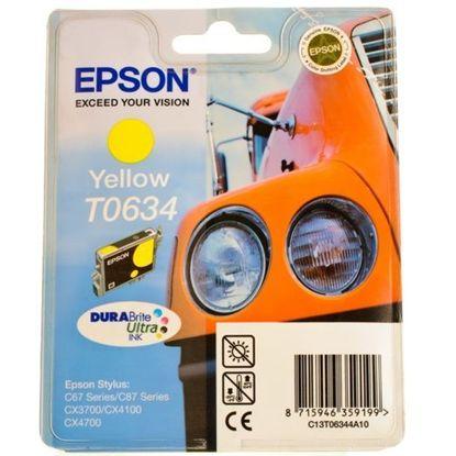 Зображення Картридж Epson StC67/C87,CX3700/4100/4700 yellow