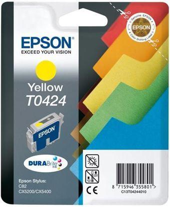Зображення Картридж Epson StC82,CX5200/5400 yellow