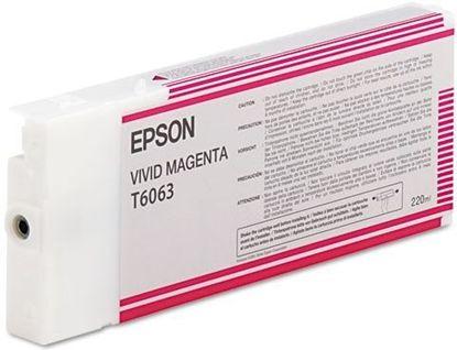 Зображення Картридж Epson StPro 4880 vivid magenta, 220мл