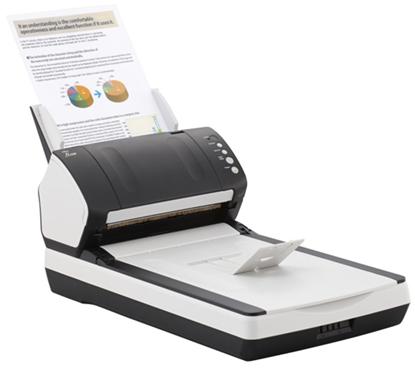 Зображення Документ-сканер A4 Fujitsu fi-7240 (встроенный планшет)
