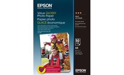 Зображення Epson A4 Value Glossy Photo Paper