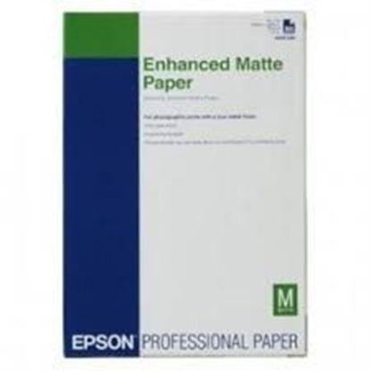 Зображення Бумага Epson A3+ Enhanced Matte Posterboard