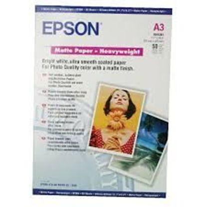 Зображення Бумага Epson A3 Matte Paper-Heavyweight