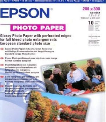 Зображення Бумага Epson 200mmx300mm Glossy Photo Paper