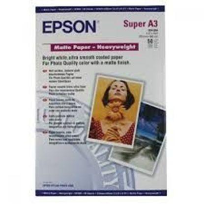 Зображення Бумага Epson A3+ Matte Paper-Heavyweight