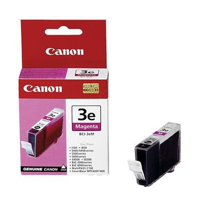 Изображение Картридж Canon  BCI-3eM Magenta для BJC-3000/6000/6100/6200/6500, BJ-i550/i850/i6500, S400/450/4500/500/520/600/630/6300/750, SmartBase MPC400/600F/MP700Photo/MP730Photo