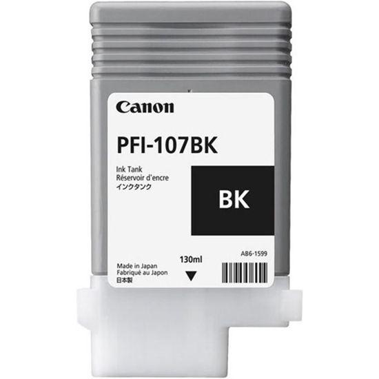 Изображение Картридж фото-черный (на основе водорастворимых чернил) PFI-107 Photo black (iPF680, iPF685, iPF780 и iPF785), 130 ml