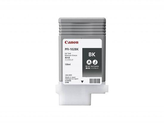 Изображение Чернильница Canon PFI-102Bk (black) iPF500/ 600/ 700