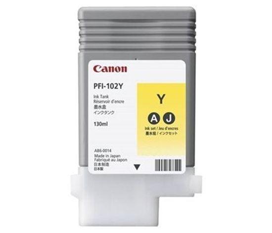 Изображение Чернильница Canon PFI-102Y (yellow) iPF500/ 600/ 700